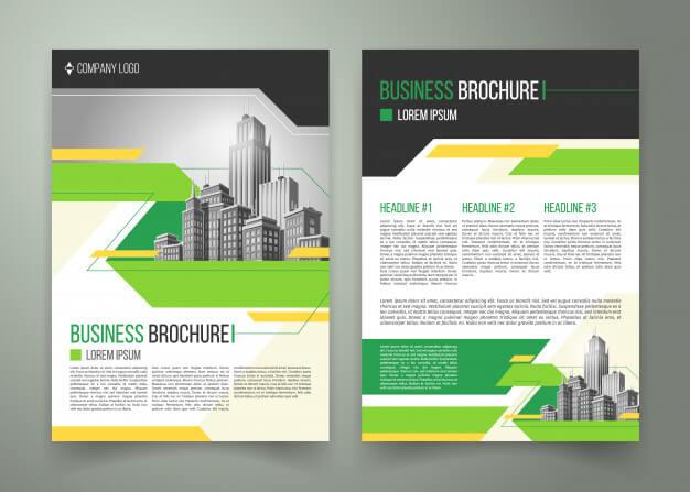 Electronic brochure design
