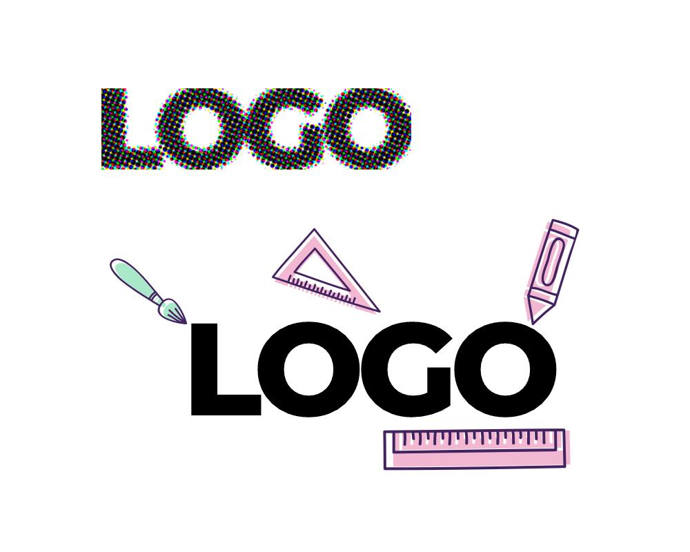 Unlimited Logo Design - Vectorize the Logo Sharp Logo