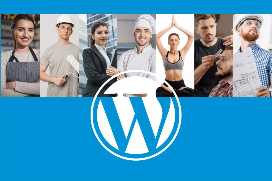 Basic WordPress website design services